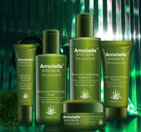 Annabella/安娜贝拉海藻水乳面霜套盒泰国正品货源批发代发