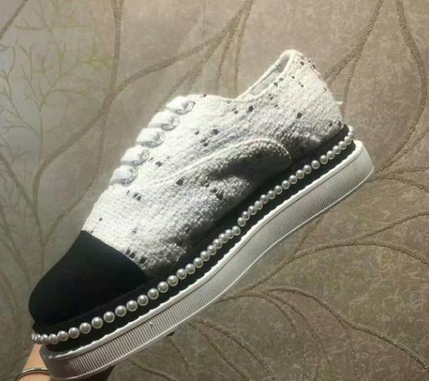 新品爆香奈儿款珍珠女鞋什么时候开售