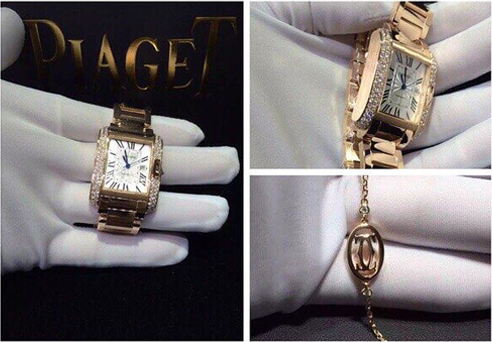 奢侈品牌珠宝批发全套包装支持验货真金真钻手镯项链戒指