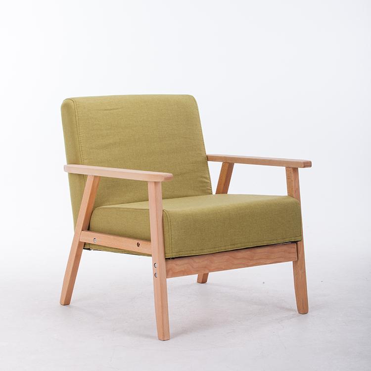 日式沙发单人双人三人小户型布艺沙发