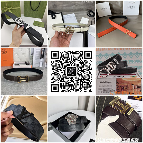 广州奢侈品官网专柜1:1复刻男女皮带,一件代发