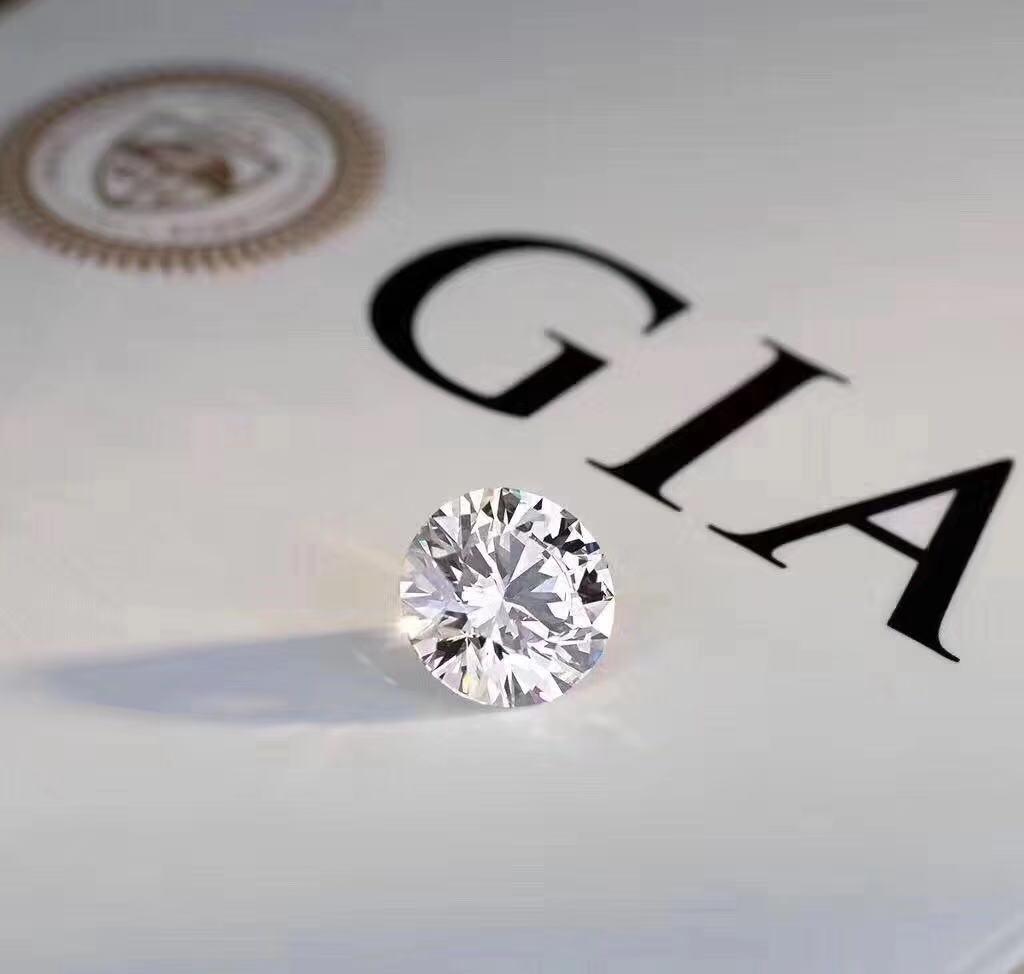 珠宝婚戒裸钻GIA定制 实体店经营